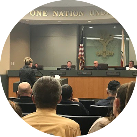 Advocating for Cannabis regulation at City of Hesperia