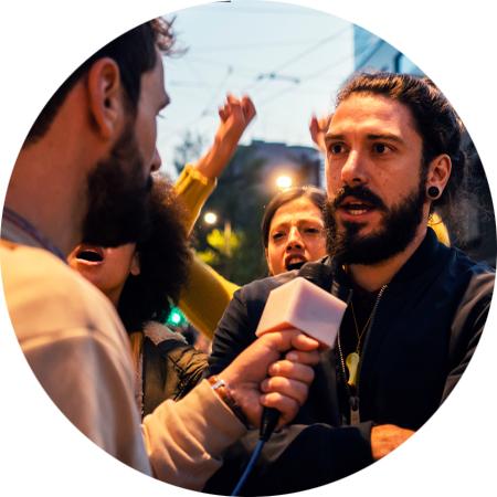 San Diego Media Advocacy Program Interview