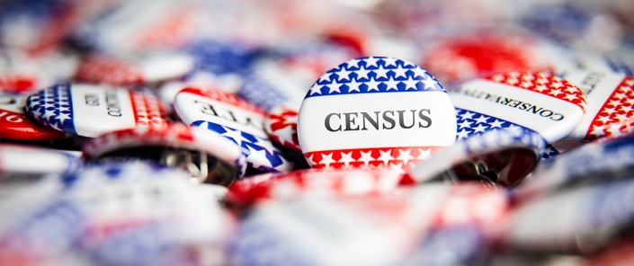 Census Buttons