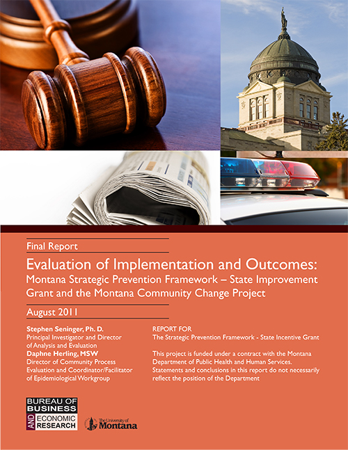 Montana Evaluation of Implementation and Outcomes